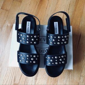 f022a285dee Steve Madden Shoes - Steve Madden Radiate Platform Sandals - black